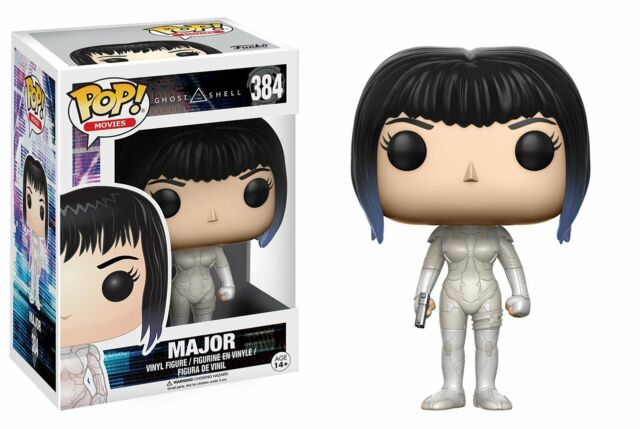 Funko Pop! Movies - Ghost in the Shell #384 - Major Vinyl Figure