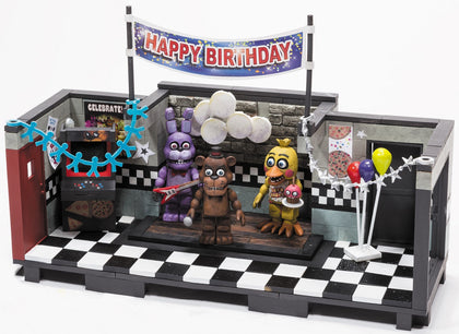 McFarlane Construction Set - Five Nights at Freddy's The Show Stage with Freddy, Bonnie & Chica Figures (12035)