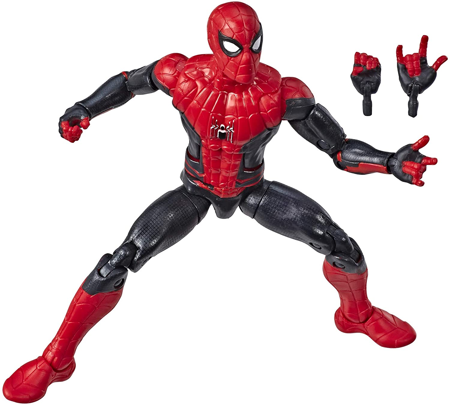 Hasbro - Marvel Legends - Molten Man BAF - Spider-Man Far From Home - Spider-Man (Hero Suit) Figure (E3956)