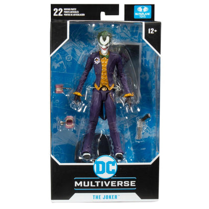 McFarlane Toys - DC Multiverse - The Joker (Batman: Arkham Asylum) Action Figure