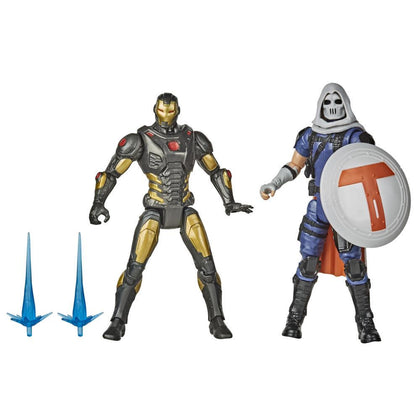 Marvel Gamerverse - Avengers - Iron Man vs Taskmaster Action Figures (F0123)