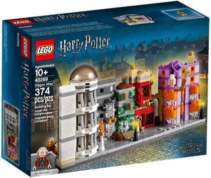 LEGO Harry Potter Building Set - Diagon Alley + Mr. Garrick Ollivander Minifigure (40289)