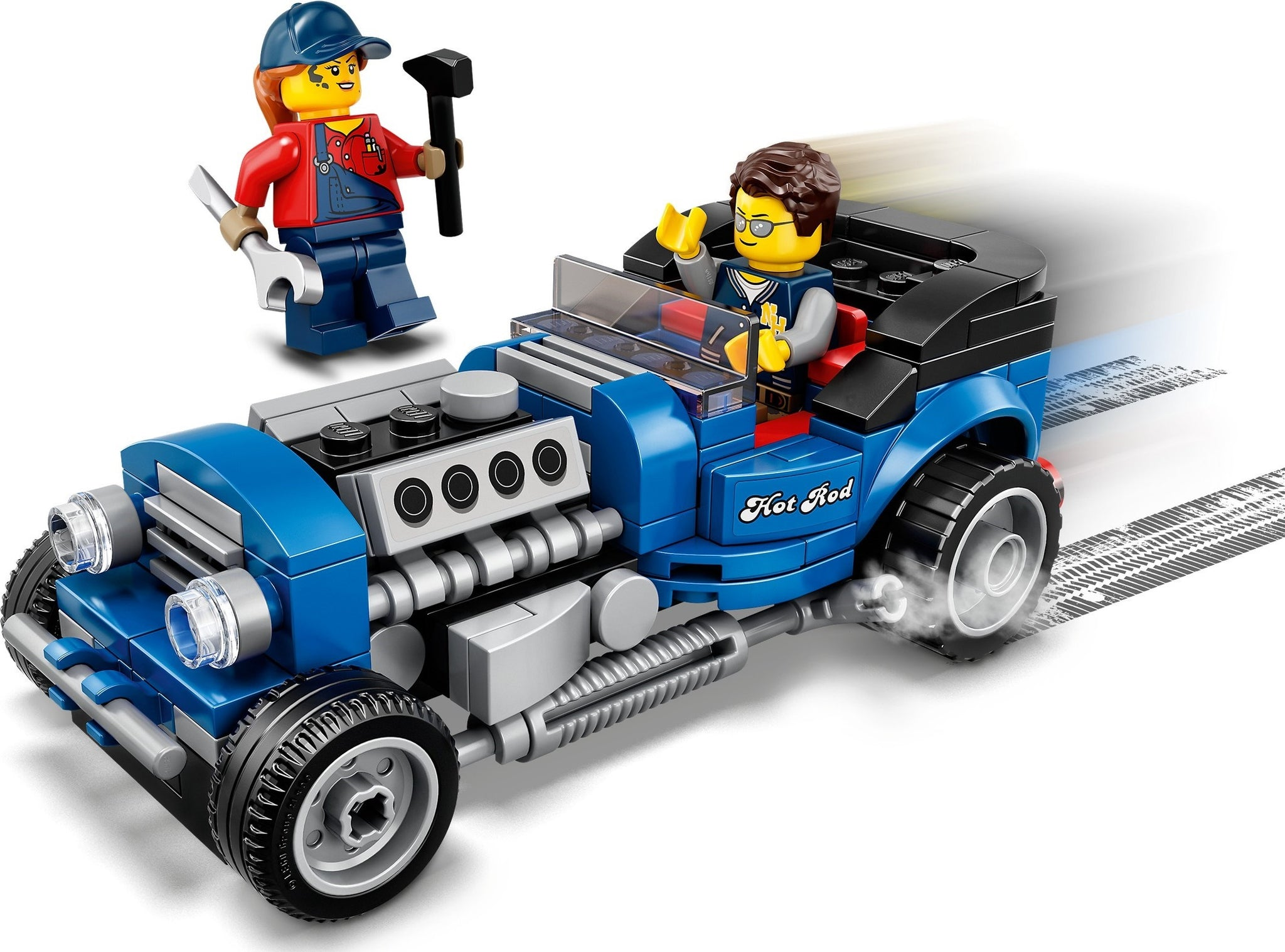 LEGO - Replica of model 5541 - Hot Rod (40409) Building Toy