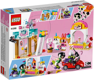 LEGO - Powerpuff Girls - Mojo Jojo Strikes: Ice Cream Stand + Townsville Jewelry Store + Getaway Car + 5 minifigures (41288)