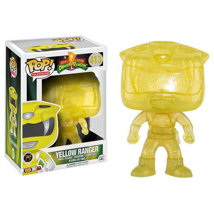 Funko Pop! Television - Mighty Morphin Power Rangers #413 - Yellow Ranger Vinyl Figure