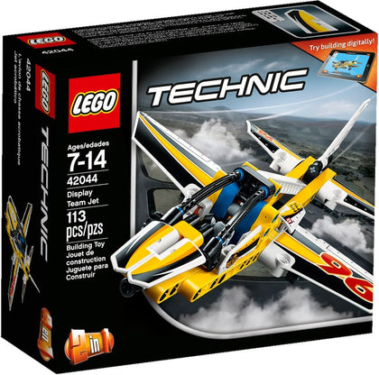 LEGO - Technic - Display Team Jet / Stunt Plane - 2-in-1 Building Set (42044)