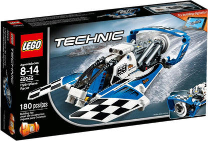 LEGO Technic 2-in-1 Building Set - Hydroplane Racer + Race Boat (42045)