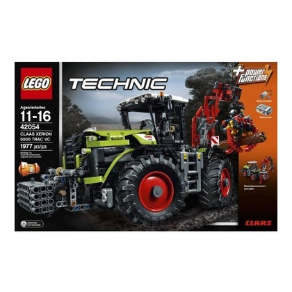 LEGO Technic 2-in-1 Building Set - CLAAS XERION 5000 TRAC VC + Silage Plow + Power Functions (42054)