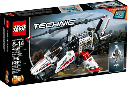 LEGO - Technic - Ultralight Helicopter / Experimental Aircraft - 2-in-1 Building Set (42057)