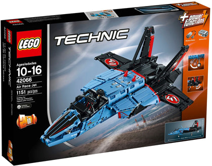LEGO - Technic - Air Race / Private Jet - 2-in-1 Building Set + Power Functions Motor (42066)