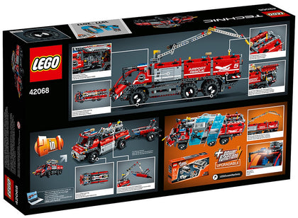 LEGO - Technic - Airport / Fire Rescue Vehicle 2-in-1 Building Set (42068)