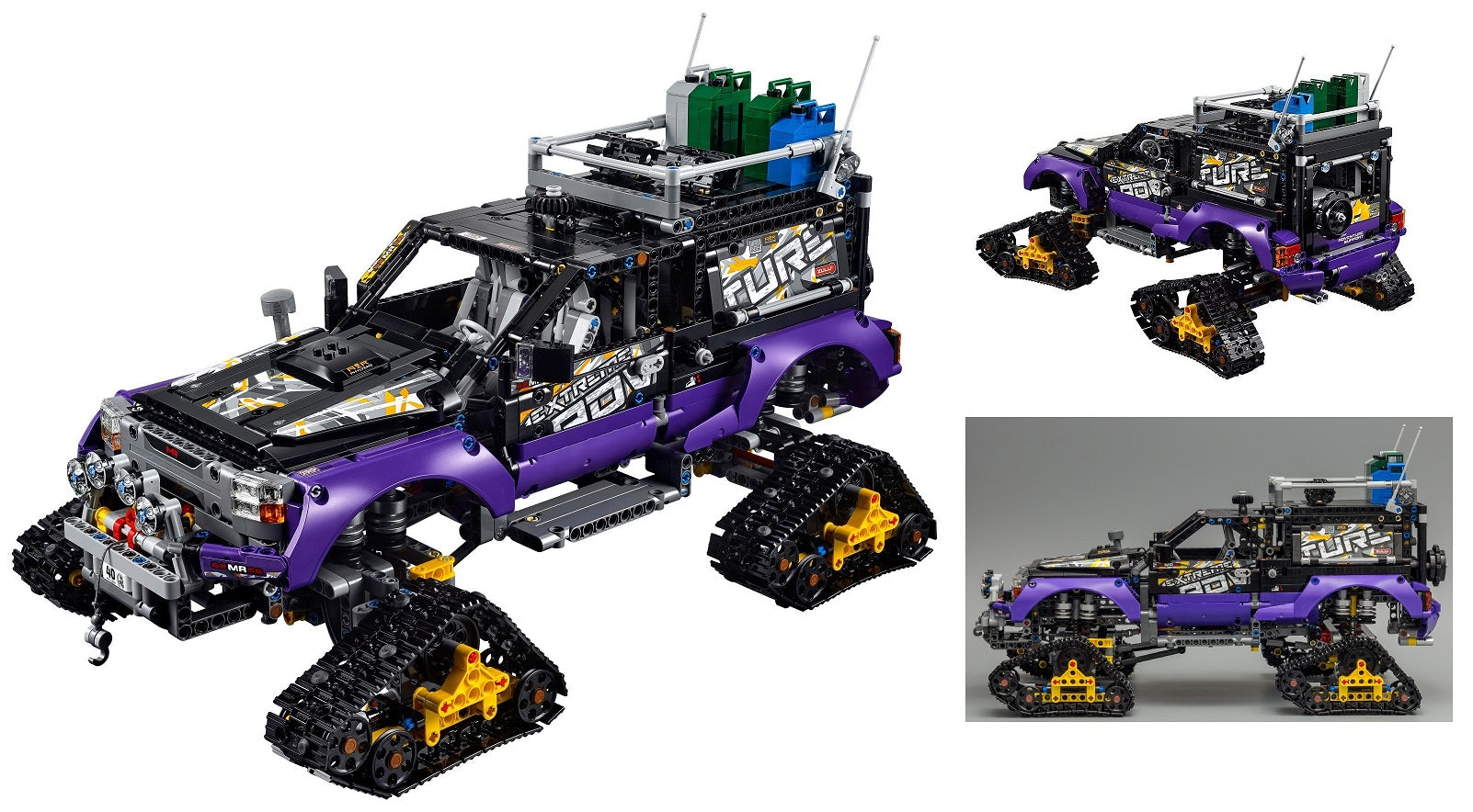LEGO Technic 2-in-1 Building Set - Extreme Adventure / Mobile Base Vehicle (42069)