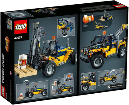 LEGO - Technic - Heavy Duty Forklift / Tow Truck - 2-in-1 Building Set (42079)