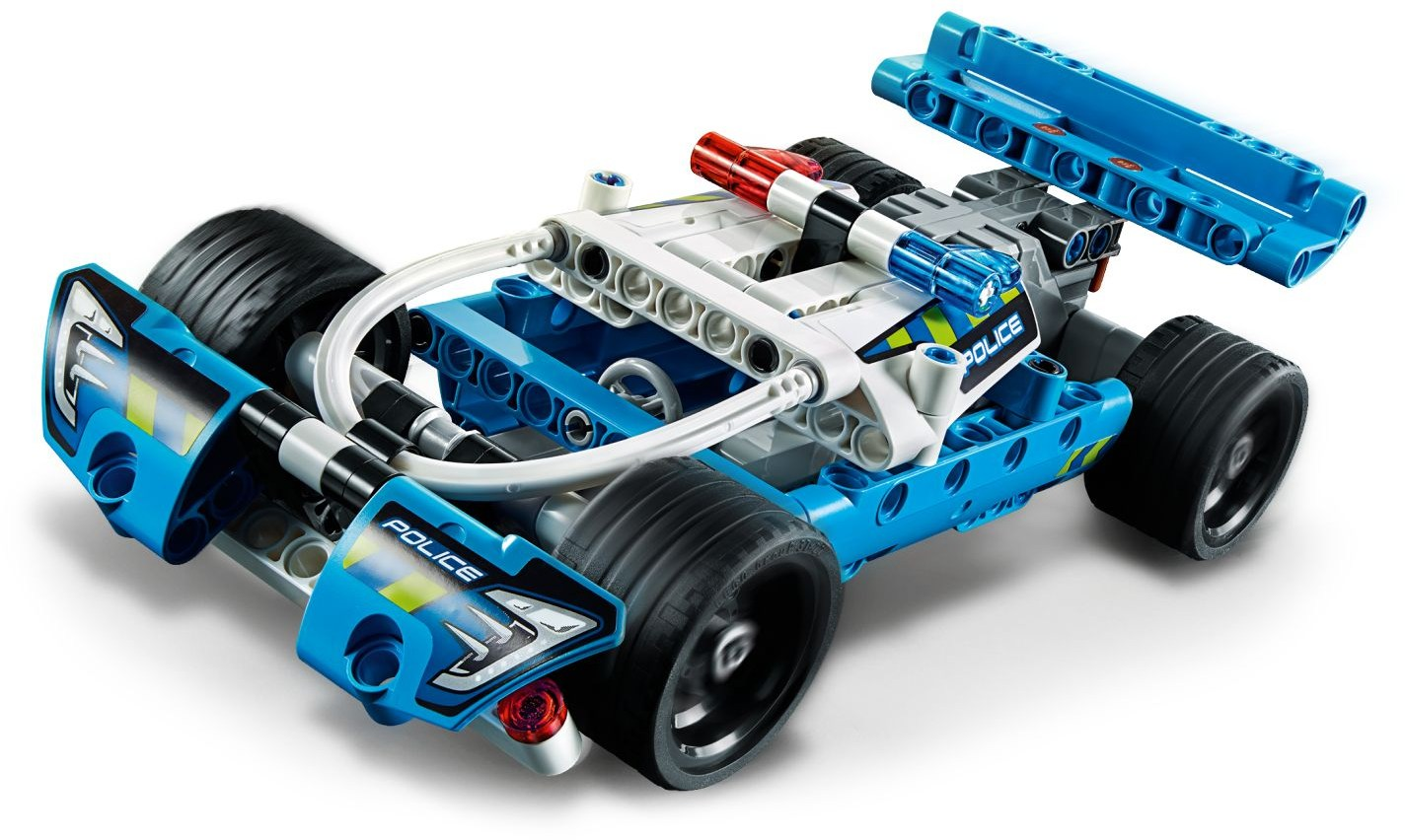 LEGO - Technic - Police Pursuit Pull Back Vehicle Building Set (42091)
