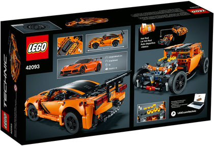 LEGO - Technic - Chevrolet Corvette ZR1 / Hot Rod - 2-in-1 Building Set (42093)