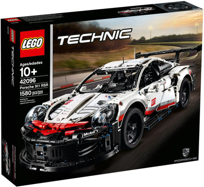 LEGO - Technic - Porsche 911 RSR Racing Car Building Set (42096)