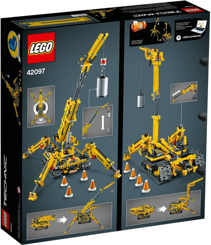 LEGO - Technic - Compact Crawler / Tower Crane - 2-in-1 Building Set (42097)