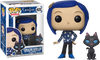 Funko POP! Animation - Coraline #422 - Coraline with Cat Vinyl Figure