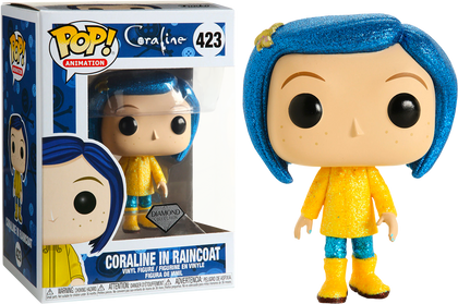 Funko POP! Animation - Coraline #423 - Coraline In Raincoat Vinyl Figure