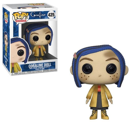 Funko POP! Animation - Coraline #425 - Coraline Doll Vinyl Figure