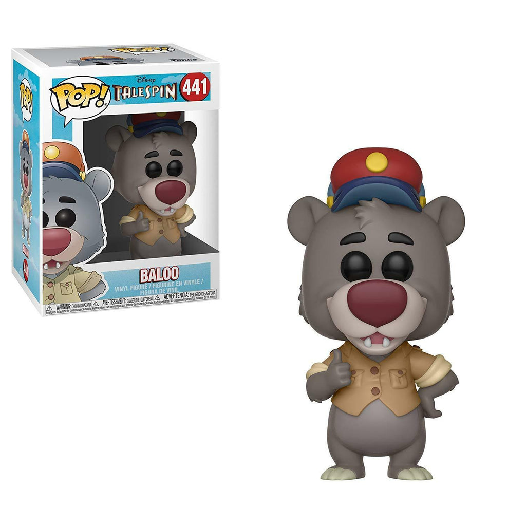 Funko Pop! Disney #441 - TaleSpin - Baloo Vinyl Figure