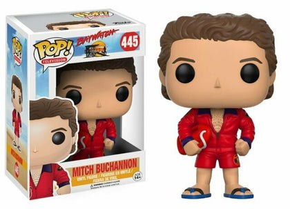 Funko Pop! Movies - Baywatch #445 - Mitch Buchannon Vinyl Figure