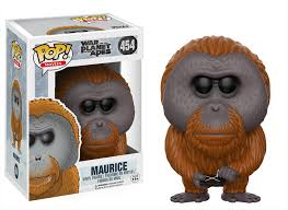 Funko Pop! Movies - War for the Planet of the Apes #454 - Maurice Vinyl Figure
