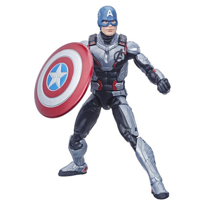 Marvel Legends - (End Game) Thanos BAF - Captain America Action Figure (E3965)