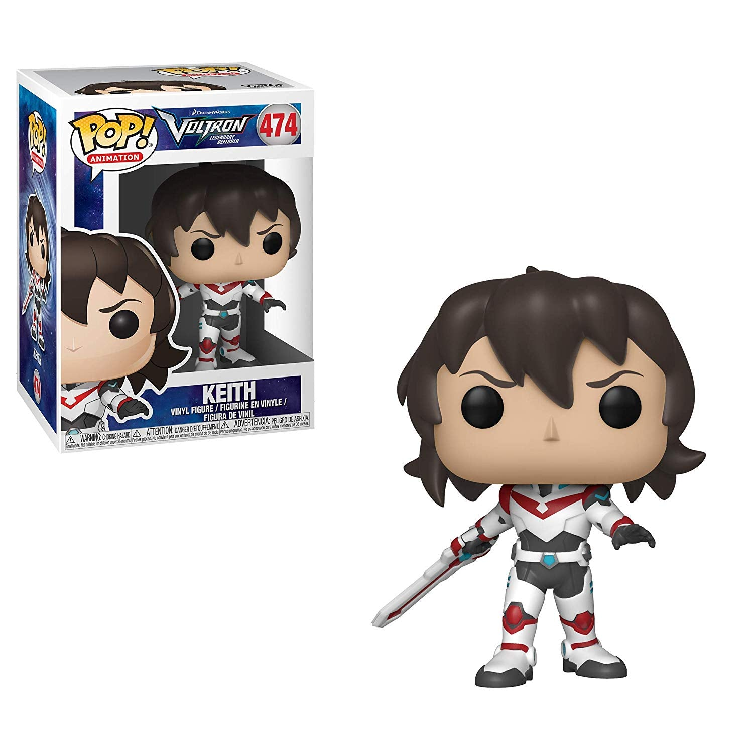 Funko POP! Animation #474 - Voltron Legendary Defender - Keith Vinyl Figure