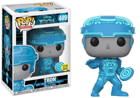 Funko Pop! Movies - Tron #489 - Tron (Glows In The Dark) Vinyl Figure