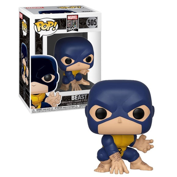 Funko Pop! Marvel - Marvel 80 Years #505 - Beast Vinyl Figure