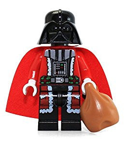 Star Wars - Darth Vader (Santa Suit) Custom Minifigure