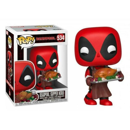 Funko Pop! Marvel #534 - Deadpool (Supper Hero) Vinyl Figure