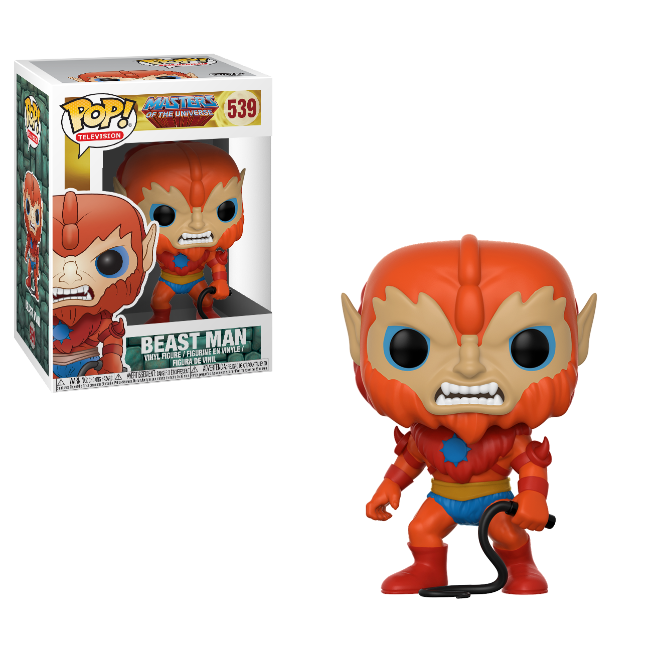 Funko Pop! Television - Masters of the Universe #539 - Beast Man Vinyl Figure