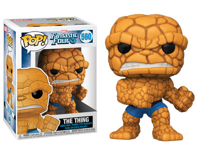 Funko Pop! Marvel - Fantastic Four #560 - The Thing Vinyl Figure