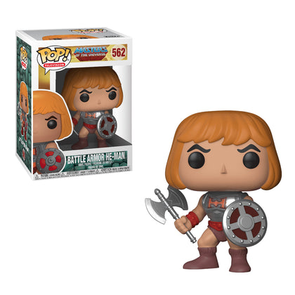 Funko Pop! Television - Masters of the Universe #562 - Battle Armor He-Man Vinyl Figure