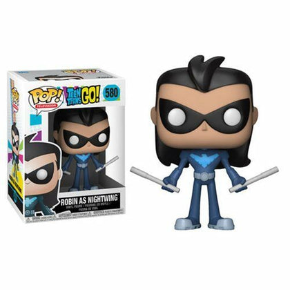 Funko Pop! Television - Teen Titans Go! #580 - Robin As Nightwing Vinyl Figure