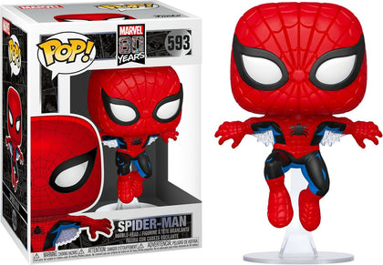 Funko Pop! Marvel #593 - Marvel 80 Years - First Appearance Spider-Man Vinyl Figure