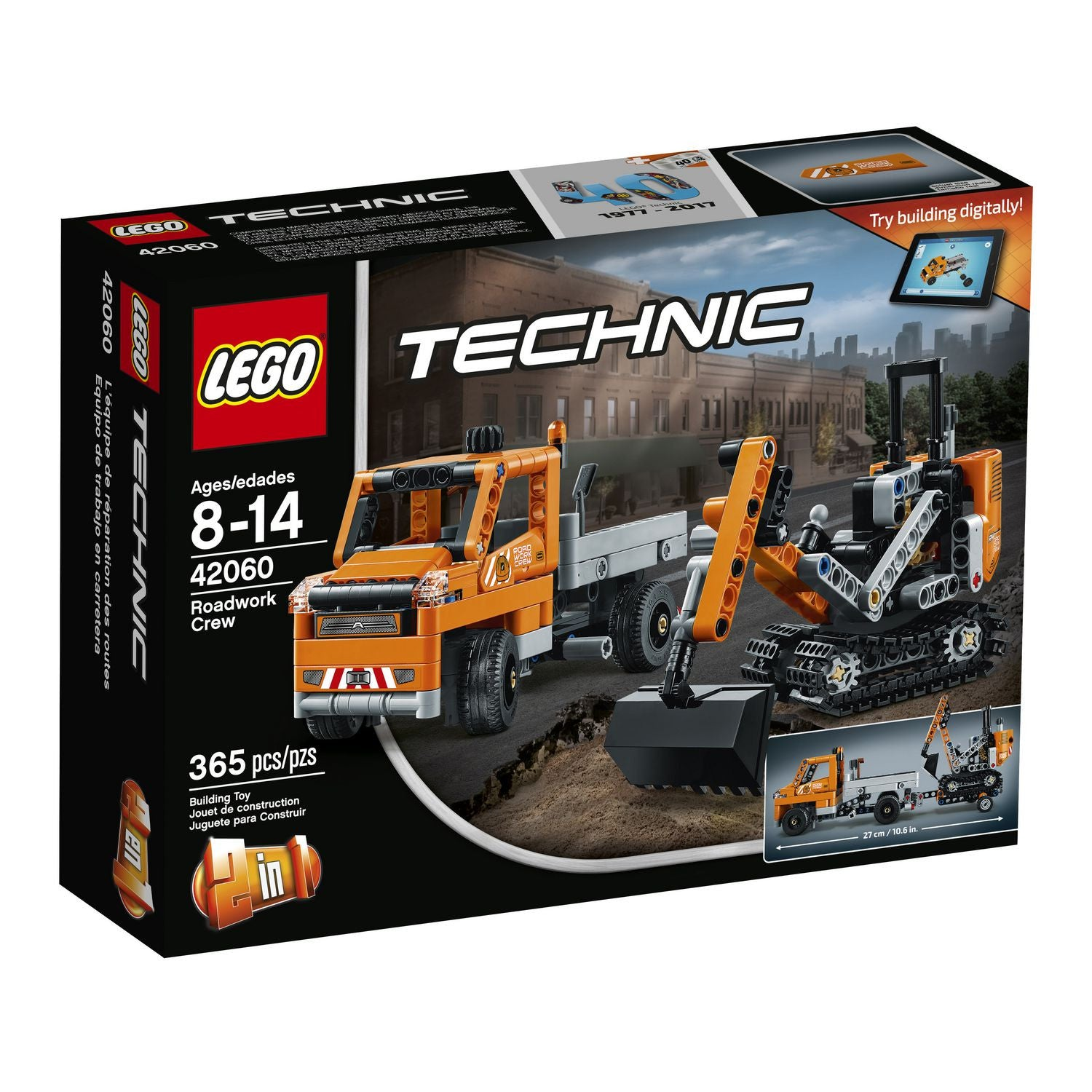 LEGO Technic - Roadwork Crew (42060)