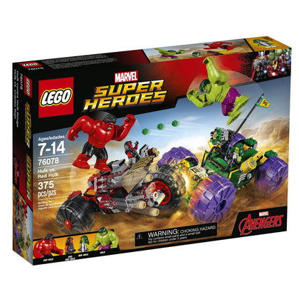LEGO Super Heroes - Hulk vs. Red Hulk (76078)
