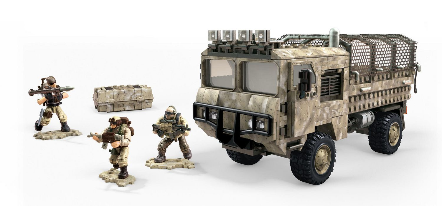 Mega Construx - Call of Duty - Heavy Tactical Cargo Truck (FVG06)