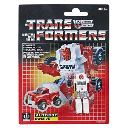 Transformers - Vintage G1 Reissue - Legion Class - Autobot Swerve (E2796) Action Figure Exclusive