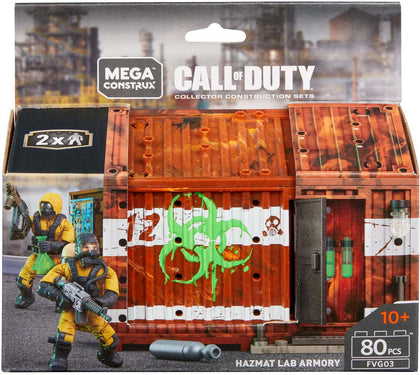 Mega Construx - Call of Duty - HAZMAT Lab Armory (FVG03)