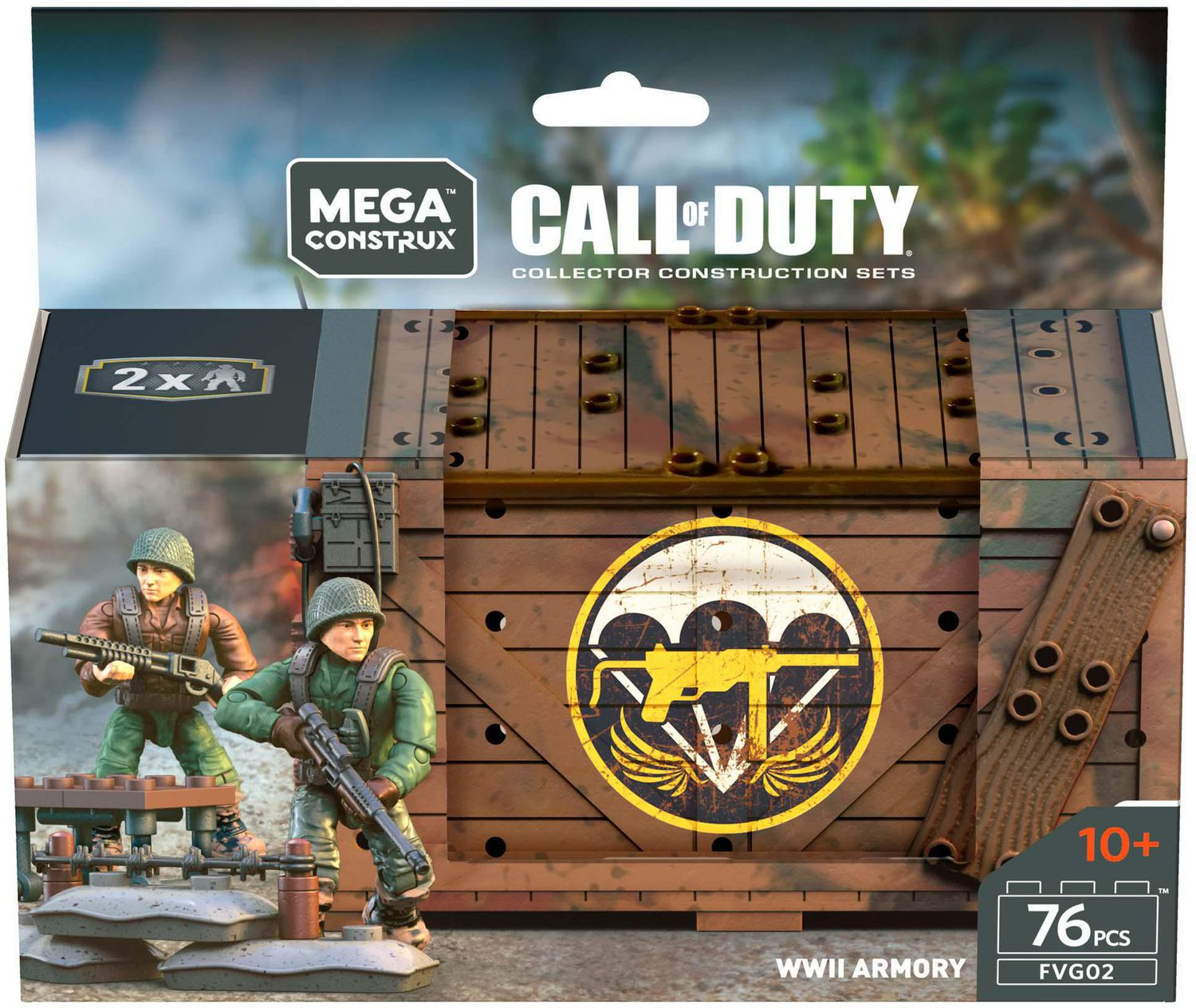 Mega Construx - Call of Duty - WWII Armory (FVG02)