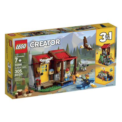 LEGO Creator 3-in-1 - Outback Cabin (31098) Building Toy
