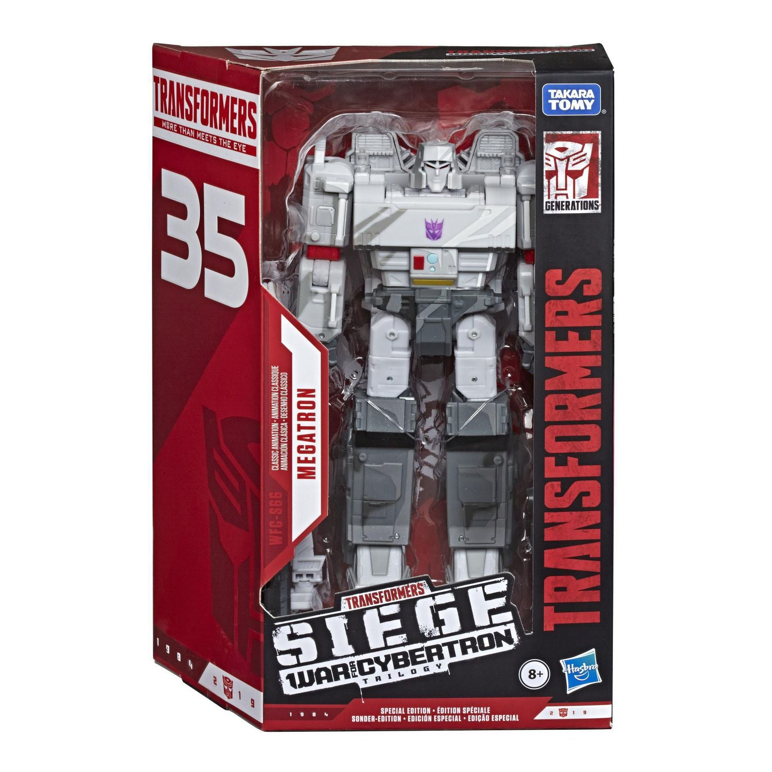 Transformers - War for Cybertron: SIEGE - Megatron 35th Anniversary Action Figure (WFC-S66)