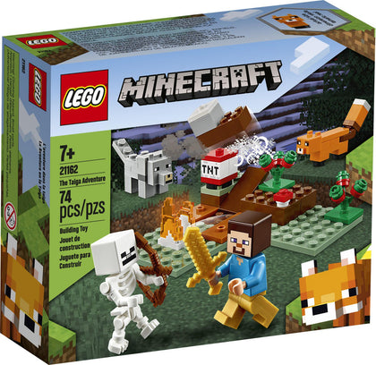 LEGO Minecraft - The Taiga Adventures (21162) Building Toy