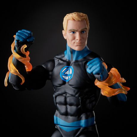Marvel Legends - Super Skrull BAF - Fantastic Four - Human Torch (E8115)