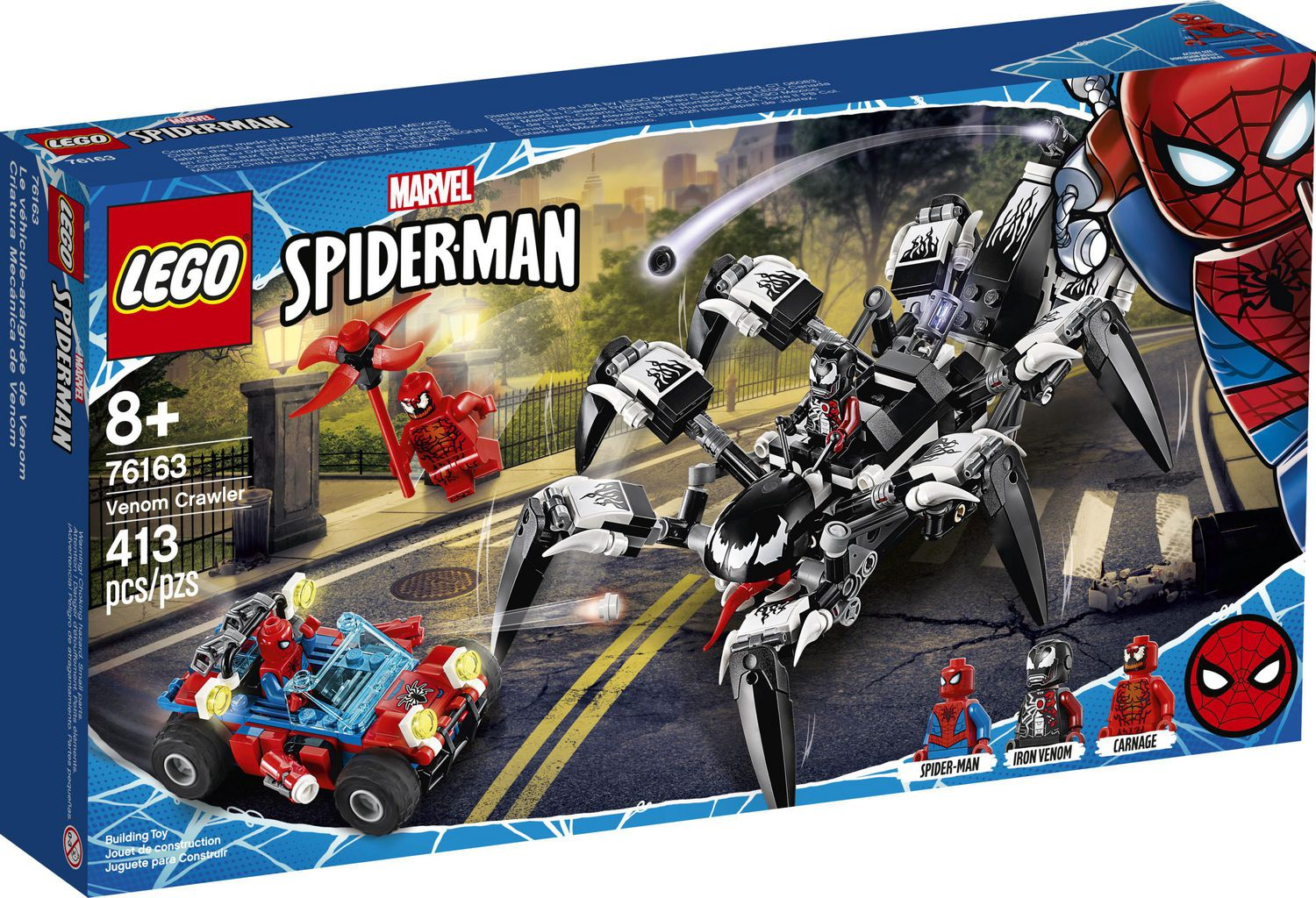 LEGO Marvel Spider-Man - Venom Crawler (76163) Building Toy