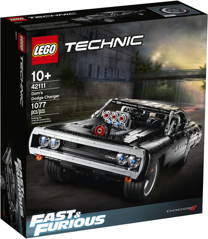 LEGO Technic - Dom's Dodge Charger (42111) Building Toy